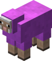 как покрасить овцу в майнкрафт