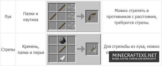Как скрафтить лук в Майнкрафт майнкрафт как сделать лук и ...