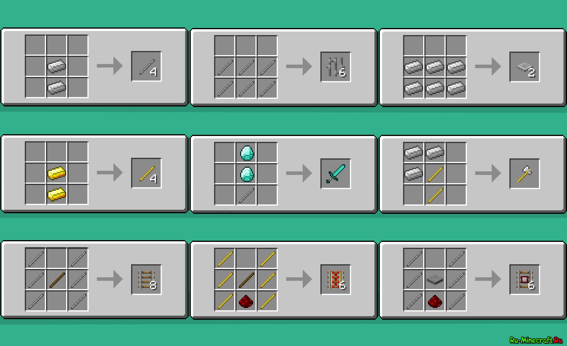 Как сделать в майнкрафте 1.5.2 - Minecraft