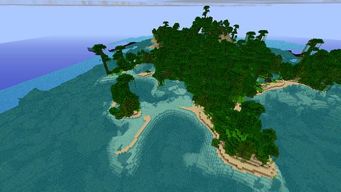 скачать карту на майнкрафт 1.5.2 выживание на островах #8