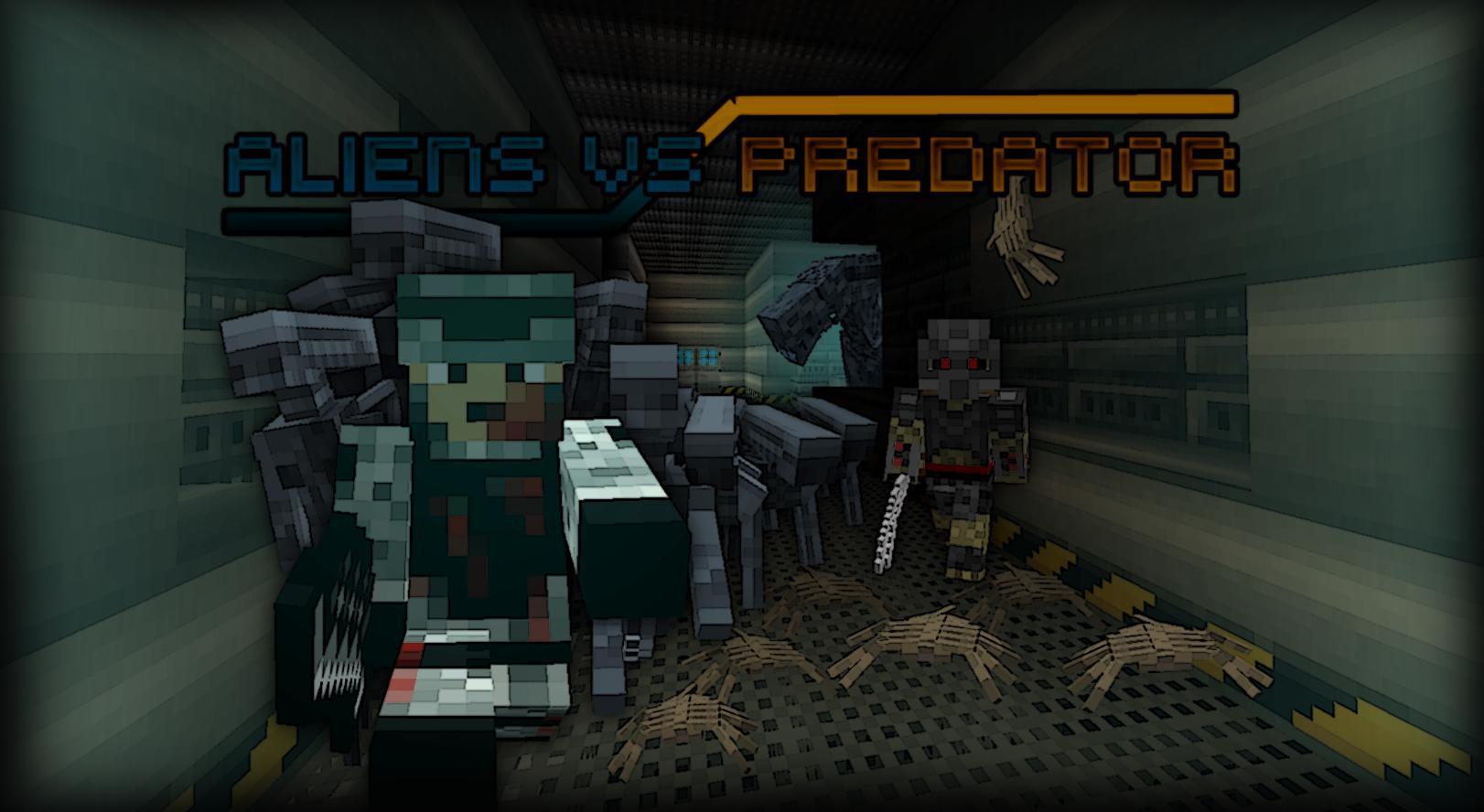 скачать мод на майнкрафт 1.7.10 alien vs predator