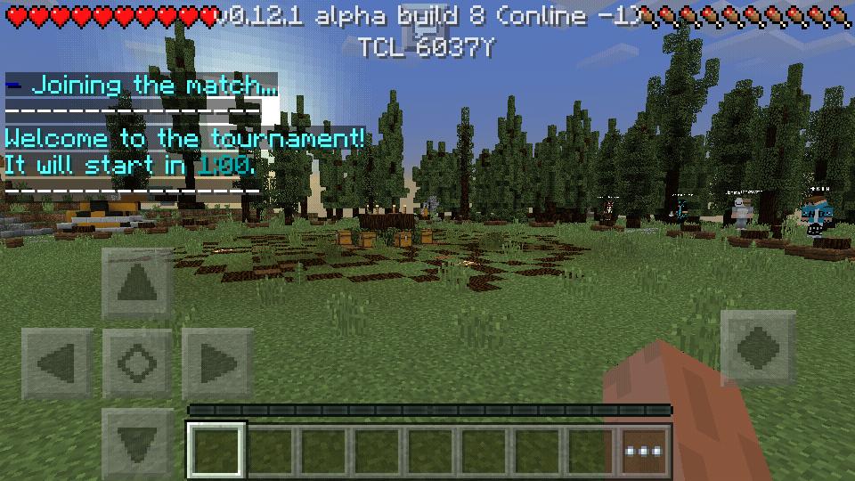 minecraft pe 0.12.1 сервера с мини играми