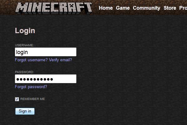 Регистрация в Майнкрафт - gamai.ru