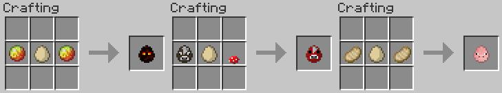 Что можно сделать из куриных яиц в майнкрафте - Minecraft